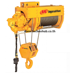 Wire rope air hoist