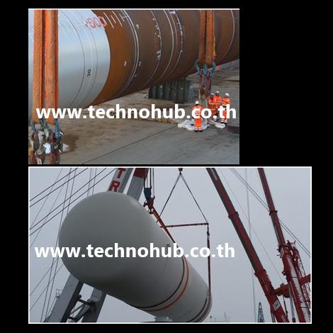 Heavy lift round sling