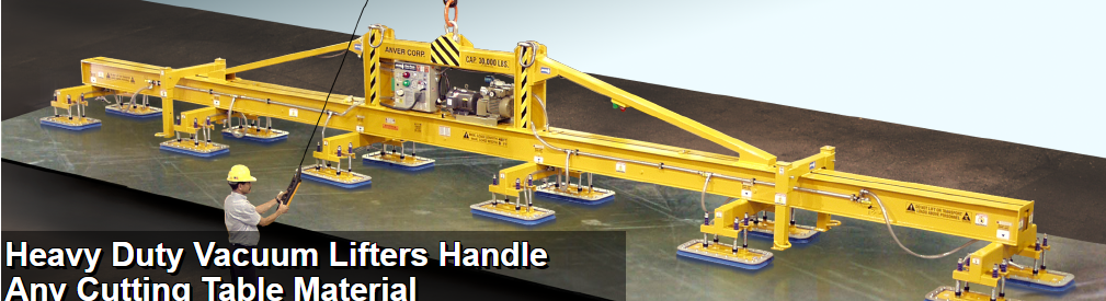 ANVER, HEAVY DUTY VACUUM LIFTER