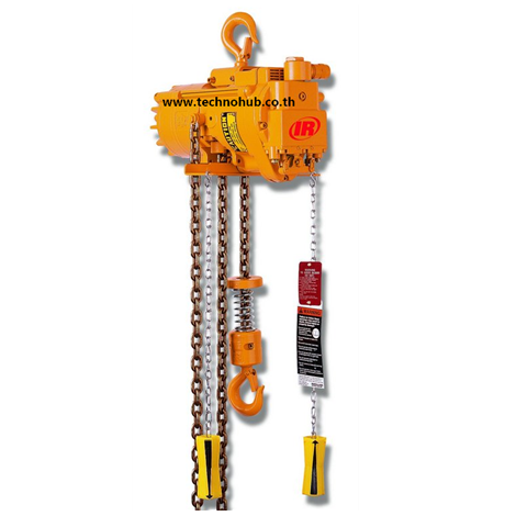 MLK ingersoll rand air chain hoist